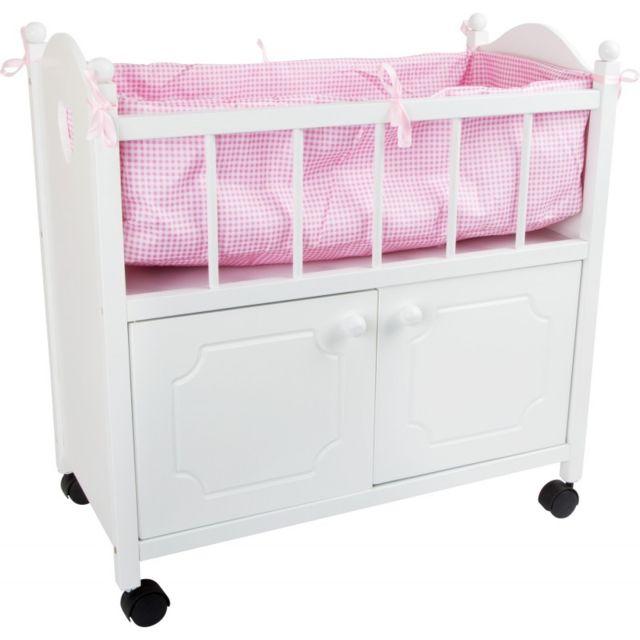 Small Foot Company Lit de poupée avec armoire