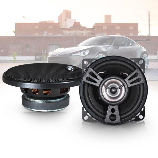 xsound paire d 39 haut parleurs hi fi 4 2 voies pour. Black Bedroom Furniture Sets. Home Design Ideas