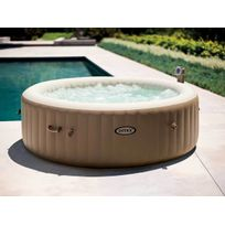 INTEX - Spa gonflable PureSpa rond Bulles 6 places