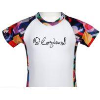 Longboard - Tee-shirt anti-uv Rashguard blc mc tee cdt Blanc 87099
