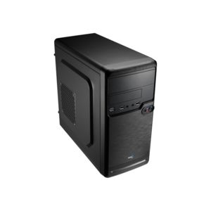 boitier pc micro atx qs182 noir aerocool boitier micro atx noir. Black Bedroom Furniture Sets. Home Design Ideas