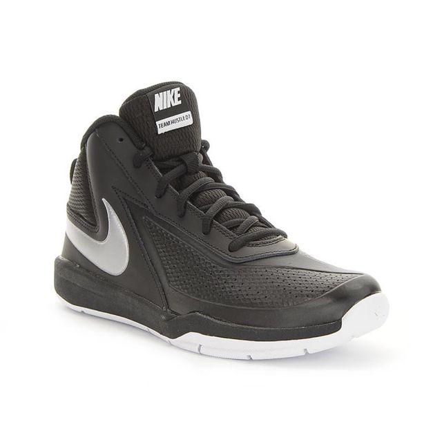 715690329eefc Nike - Team Hustle D 7 Gs Noir - pas cher Achat   Vente Chaussures basket -  RueDuCommerce