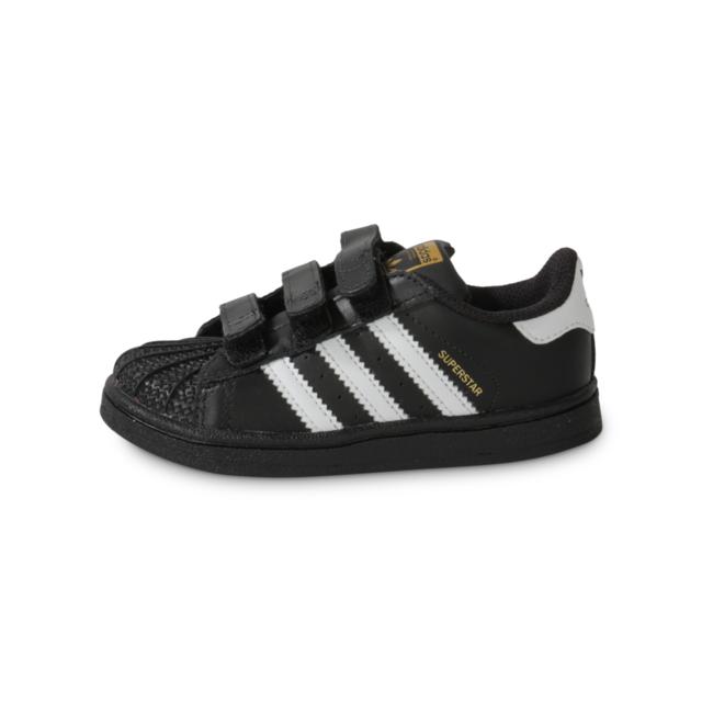 Adidas Superstar Foundation Blanche Et Noire Bébé pas