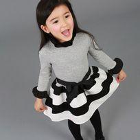 Glareola - Vêtement pour enfant, Robe imprimée fleurie pour enfants, robe légère pour fille, vêtement pour petite fille de 2 à 12 ans