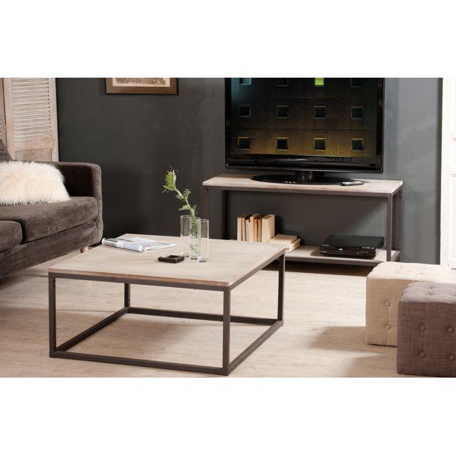 MACABANE Table basse 90X90 cm