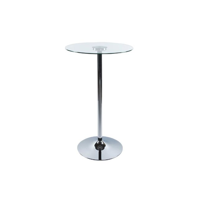 Table bar design 65x65x110cm Slidi