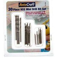 Rotacraft - Set 30pcs mini Forets Hss Rc9003 - jp-5533224