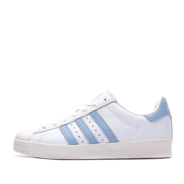 Adidas Superstar Vulc x Krooked Baskets blanches homme