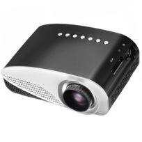 Wewoo - Vidéoprojecteur Led noir Portable Projecteur de Cinéma Maison Micro avec Télécommande, 2,4 pouces Lcd Panneaux, Usb / Sd / Hdmi