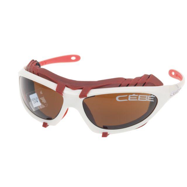 Cébé - Lunettes solaire Cebe Heliak blan c4 c3 c2 pack Blanc 62330 ... 9ceca9982fa1