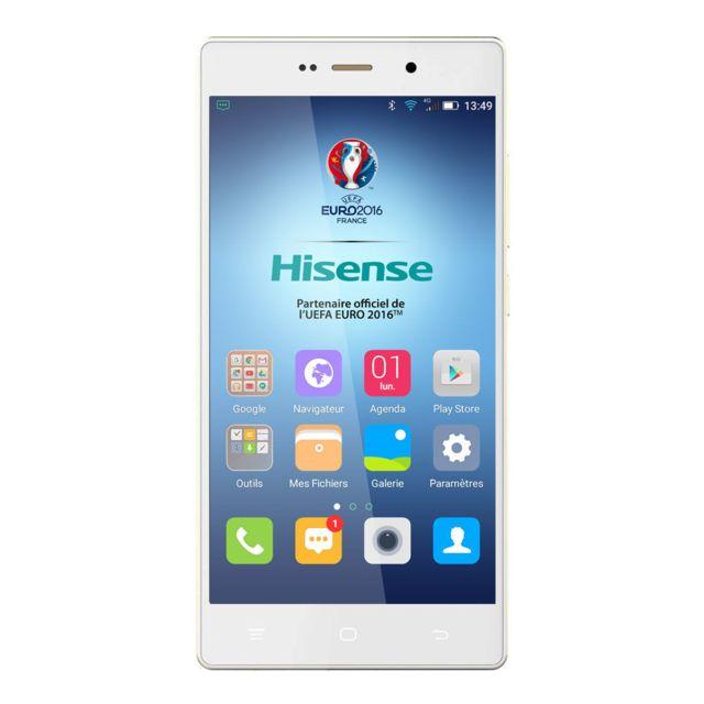 HISENSE H910 Dual Sim 16Go 4G Blanc