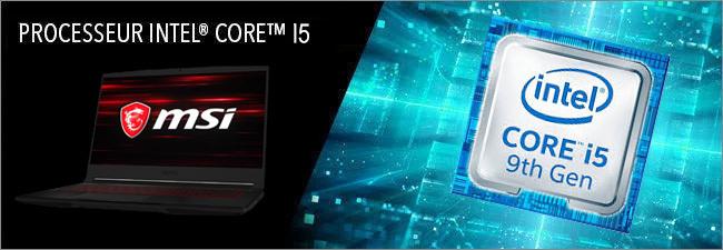 MSI - Processeur Intel Core i5 9th