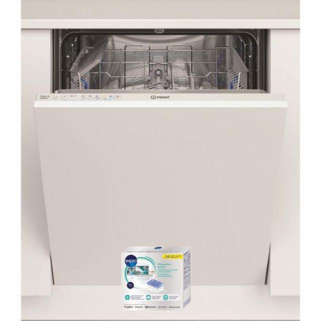 Indesit Lave-vaisselle tout intégrable encastrable 49dB A+ 13 Couverts 60cm 5 Programmes