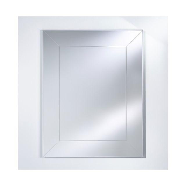 Deknudt Mirrors Miroir Classique Sempre Rectangle Classique Rectangulaire Naturel 110x140 cm