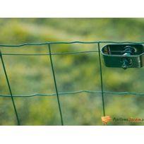 Nature - Rouleau de fil de fer en acier galvanisé vert Ø2,7mm L25m