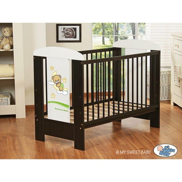 Autre Lit bébé bonne nuit vert + matelas wengé