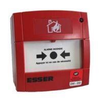 Esser - 80232 - Déclencheur manuel Mcp2A-R910SF avec membrane et Led pour Ea1 - Rouge