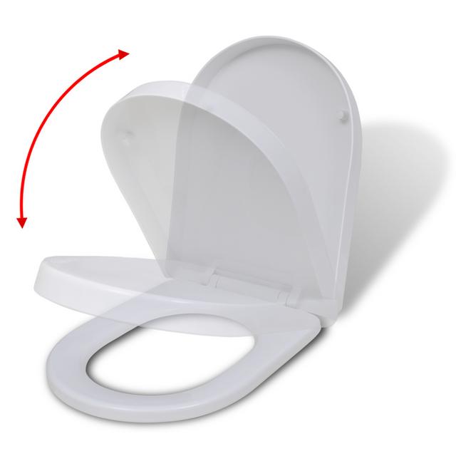 rocambolesk superbe abattant wc fermeture en douceur blanc carr neuf pas cher achat. Black Bedroom Furniture Sets. Home Design Ideas