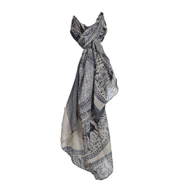 Smash - Foulard femme imprimé - Foulard viscose - fin de collection - pas  cher Achat   Vente Echarpes, foulards - RueDuCommerce b3e94bc4f6d