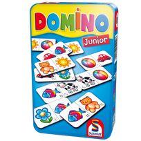 Schmidt Spiele Gmbh - Jeu de poche : Domino Junior