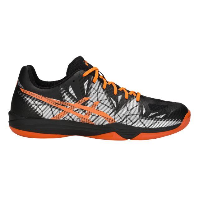 Gel Pas 39 12 Chaussures Asics 3 Noirorangeargent Fastball Okn0wX8P