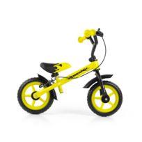 Milly Mally - Vélo   Draisienne avec frein pour enfant 2-4 ans Dragon   3b9ff083bbe