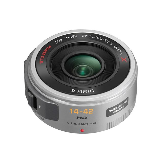 Panasonic Objectif Lumix G X Vario Pz 14-42 mm f/3,5-5,6 Power Ois silver