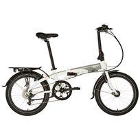 """Tern - Link D8 - Vélo pliant - Dr 20"""" gris/blanc"""