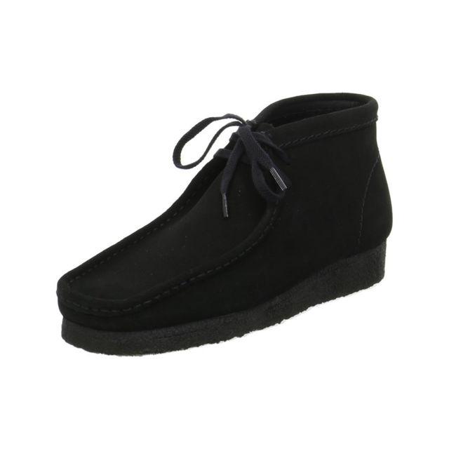 Clarks - Wallabee Boots Noir - 40 - pas cher Achat   Vente Boots homme -  RueDuCommerce ef1f4e5ebc14