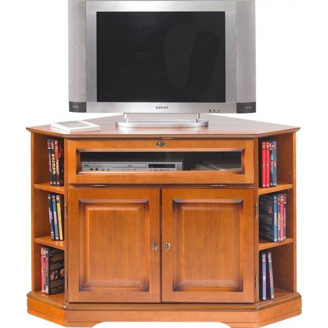 beaux meubles pas chers meuble tv d 39 angle 2 portes 1. Black Bedroom Furniture Sets. Home Design Ideas