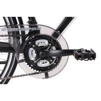 VTC homme 28'' aluminium Metropolis noir guidon multiposition TC 56 cm