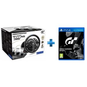 thrustmaster volant t300rs gt gran turismo sport ps4 pas cher achat vente volant pc. Black Bedroom Furniture Sets. Home Design Ideas