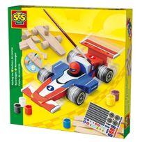 Ses Creative - Ses France - 14582 - Jeu De Construction - Voiture En Bois - Formule 1