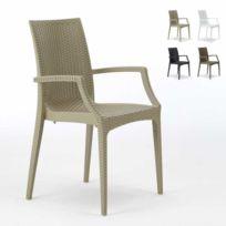 grand soleil chaises de jardin fauteuil accoudoirs b - Chaise De Jardin Couleur