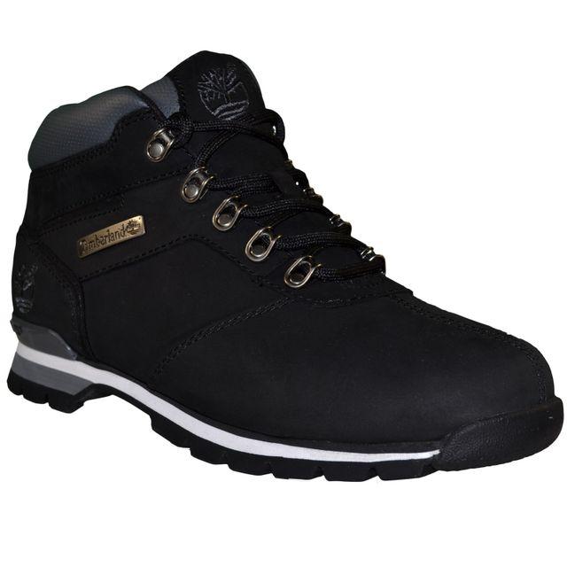 Timberland - Boots - Chaussures Montantes - Homme Splitrock 2 Hiker Cuir - Noir