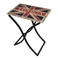 Casasmart - Table basse London bois et pieds fer