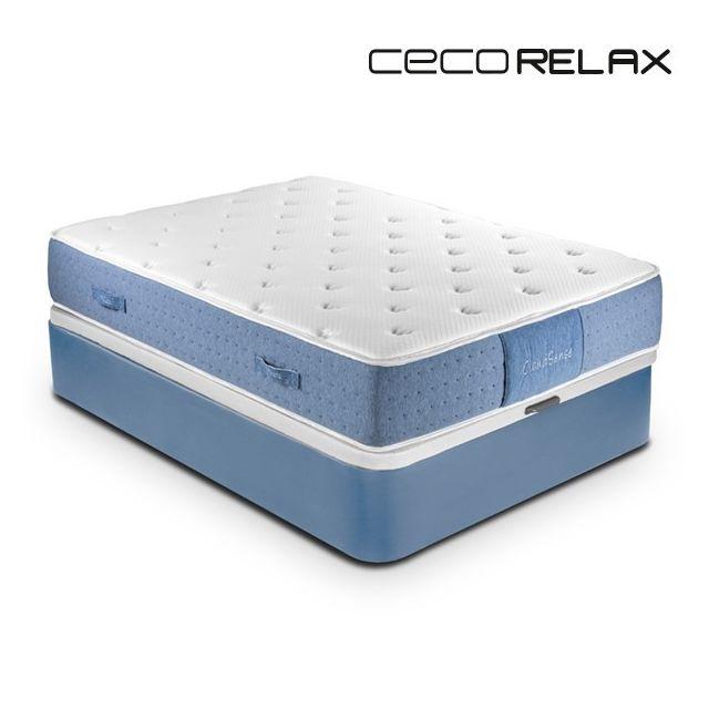 Totalcadeau Matelas écologique viscogel Premium Épaisseur 30 cm gel confort relaxation maximale et meilleure circulation Mesure - 10