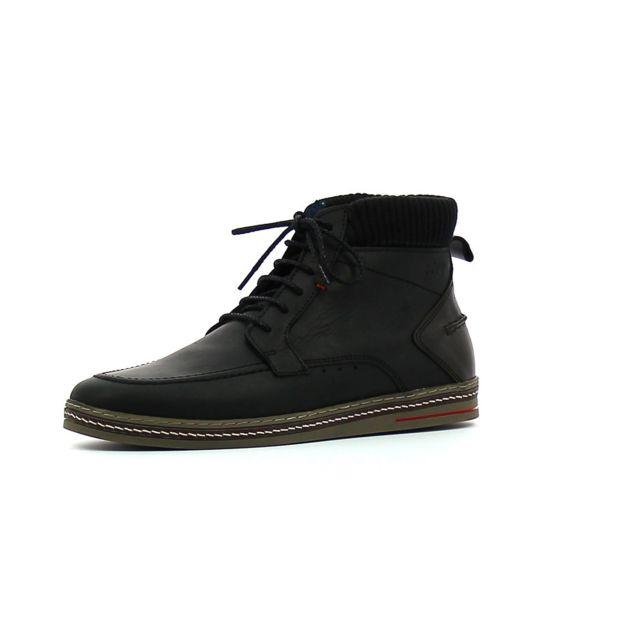 Tbs Chaussures montantes Nannos Noir pas cher Achat