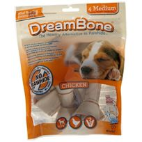 Petmatrix - Dreambone Friandise chien poulet medium 4 pieces