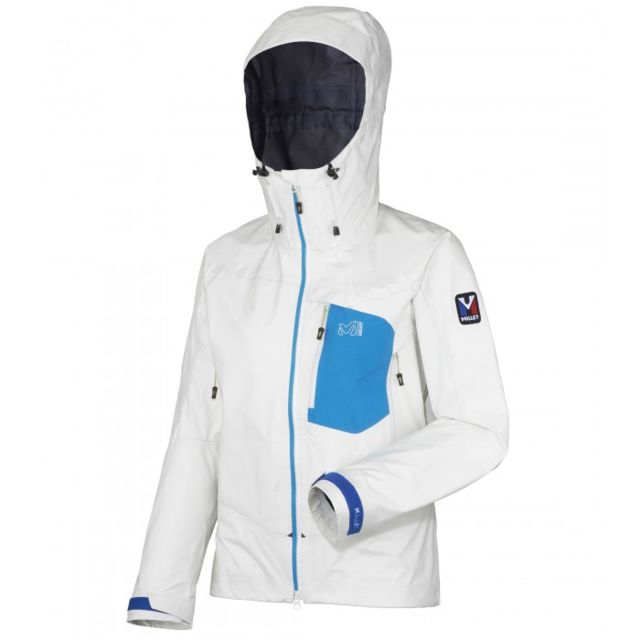 14b66d0947e01c Millet - Veste Gore-tex Ld Trilogy Gtx Pro Blanc Femme - pas cher Achat   Vente  Blouson de ski - RueDuCommerce
