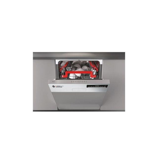 Hoover Hdsn2d620px - Lave-vaisselle Intégrable - 16 Couverts - 43 Db - A++ - L60 Cm - Inox