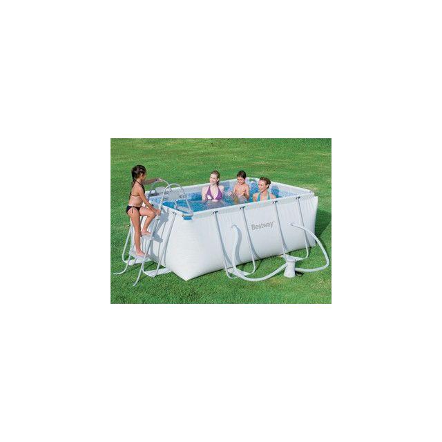 Best way vigipiscine piscine hors sol tubulaire for Piscine hors sol bestway rectangulaire