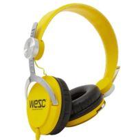 WeSC - Casque Audio Bass Dandellion Yellow - En Soldes