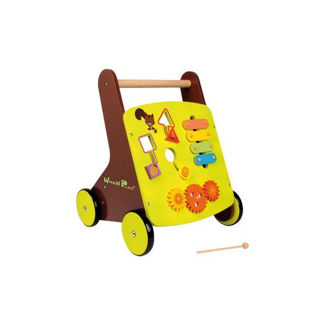 Wood N Play - Pousseur Bois - pas cher Achat   Vente Chevaux à bascule,  porteurs - RueDuCommerce e03a93ecc44