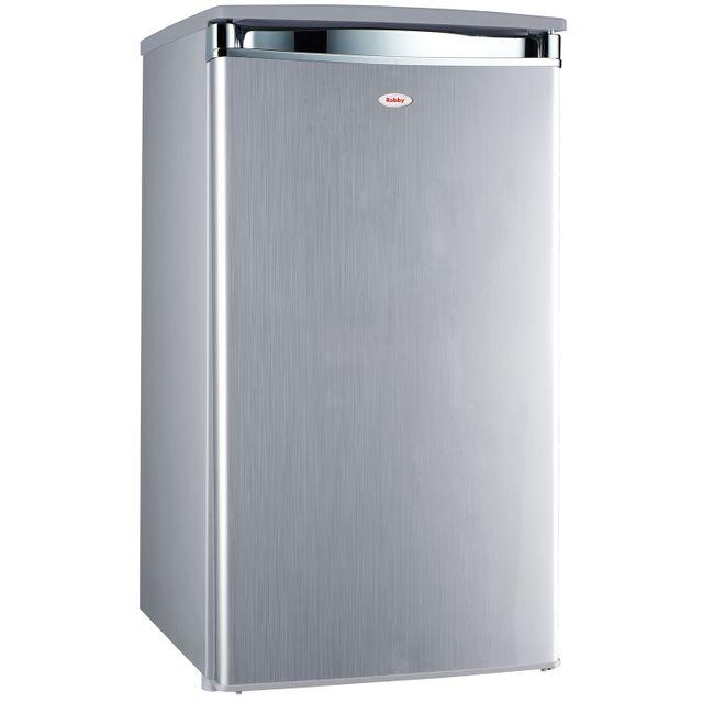ROBBY réfrigérateur top 45cm 91l a+ silver - fridge 91l silver