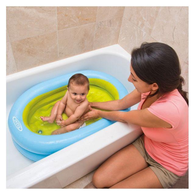 Intex baignoire gonflable pour b b pas cher achat vente piscines gonflables rueducommerce - Carrefour baignoire bebe ...