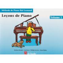 Dehaske - Méthodes Et Pédagogie Méthode De Piano Hal Leonard Vol.1 Leçons De Piano + Cd Piano