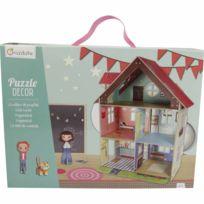 Minymum - Puzzle en volume décor : Maison de poupées