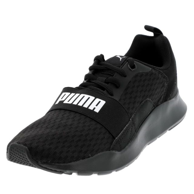 Chaussures running mode wired black Noir 12803