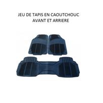 Peraline - Tapis de voiture universel en caoutchouc 3 pieces